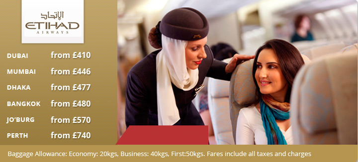 Etihad Airlines Fare